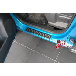 Накладки в проем передних/задних дверей для Renault Kaptur 2016-